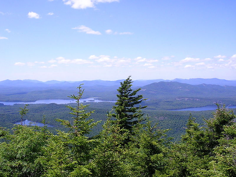 Better of lakes on catamount