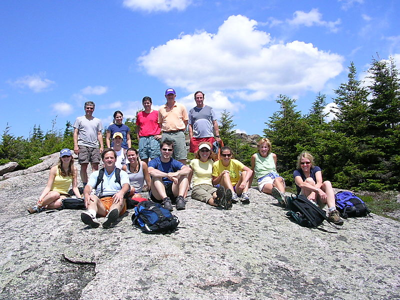 Group on top of Catamount