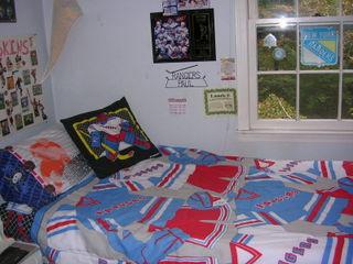 Paul's bed
