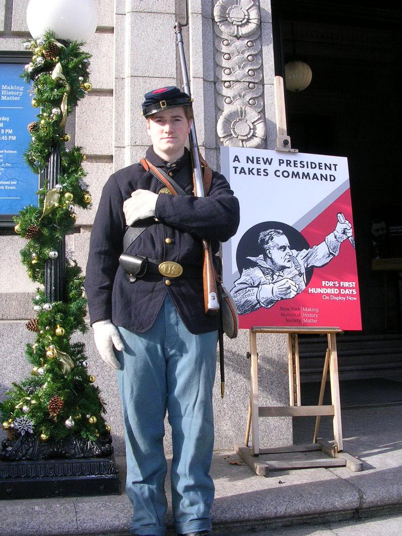 Civil war soldier