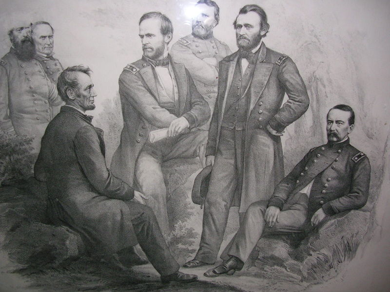 Lincoln and advisers