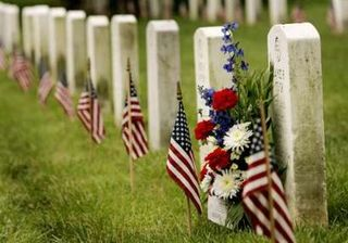 Flags-in-memorial-day