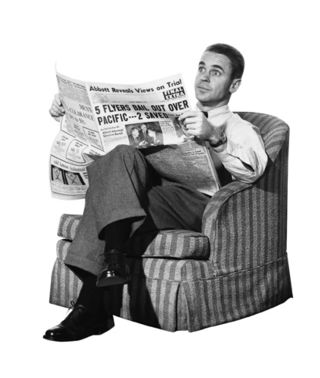 Read-the-newspaper