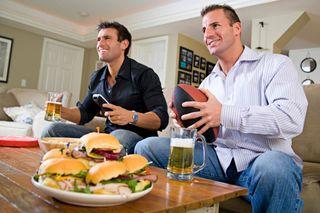Men-watching-tv