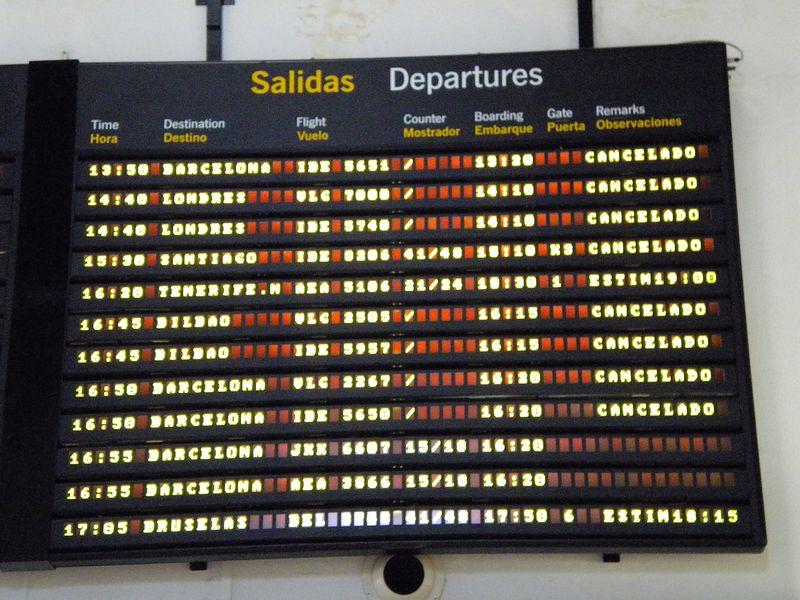 Cancellation board