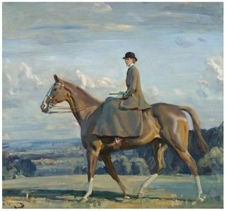 Portrait-of-lady-barbara-lowther-on-horseback-by-mullings