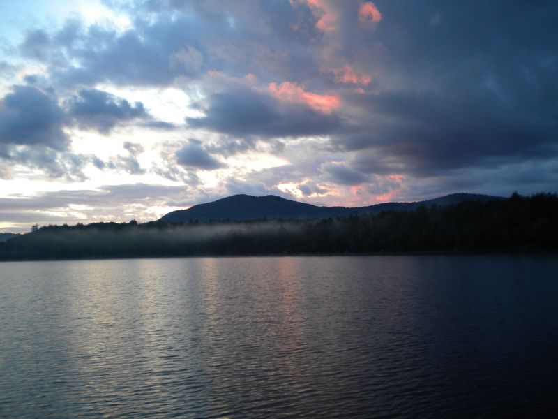 Sunset raquet lake