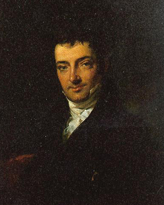 Washington Irving Oil Portrait-Resized