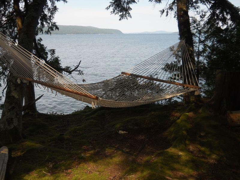 Hammock o Lake Champlain