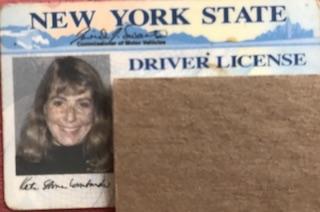 Old driver's liscense